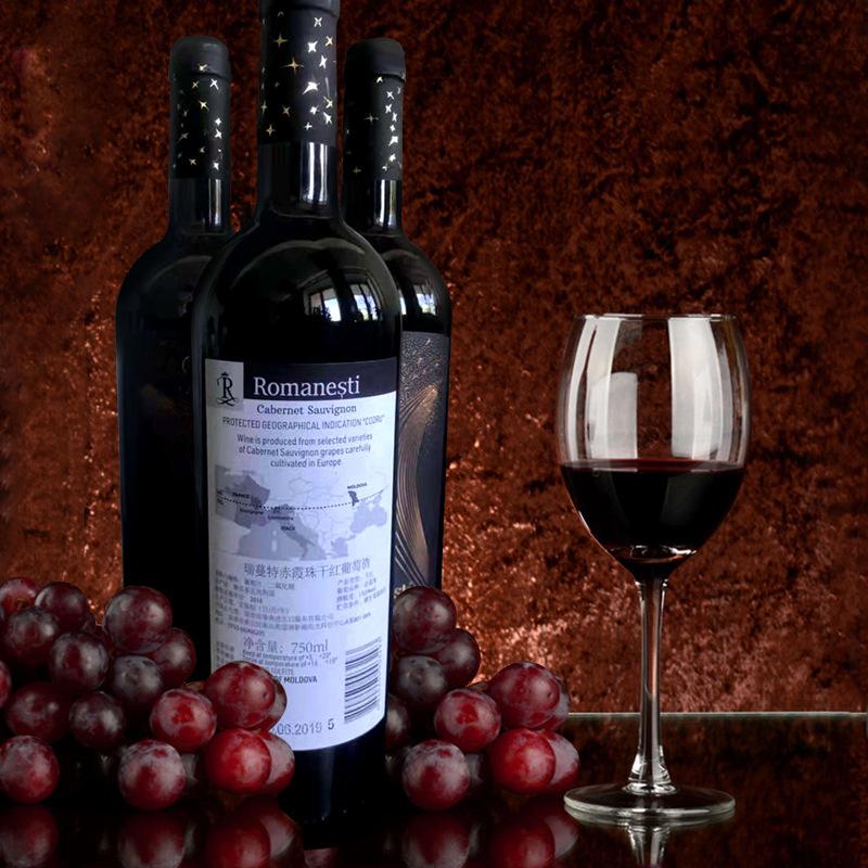 原瓶进口,瑞蔓特赤霞珠干红葡萄酒