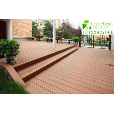 株州市木塑木地板生产工厂、销售PVC栏杆栅栏花架亭子批发安装