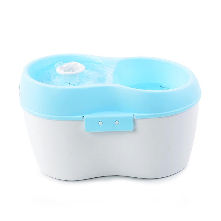 英国CatH2O喵之泉饮水机4L蓝
