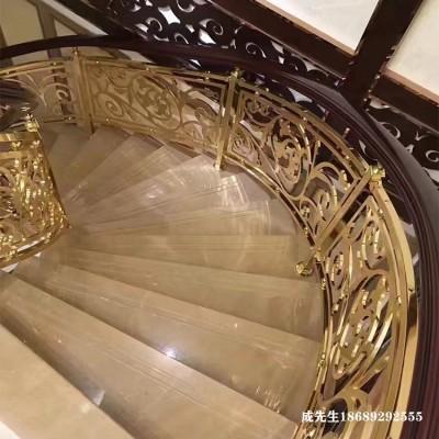 湖州欧式镀铜楼梯扶手厂家推荐热门款式