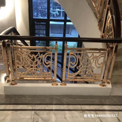 台州K金镀铜楼梯扶手了解业主的心思