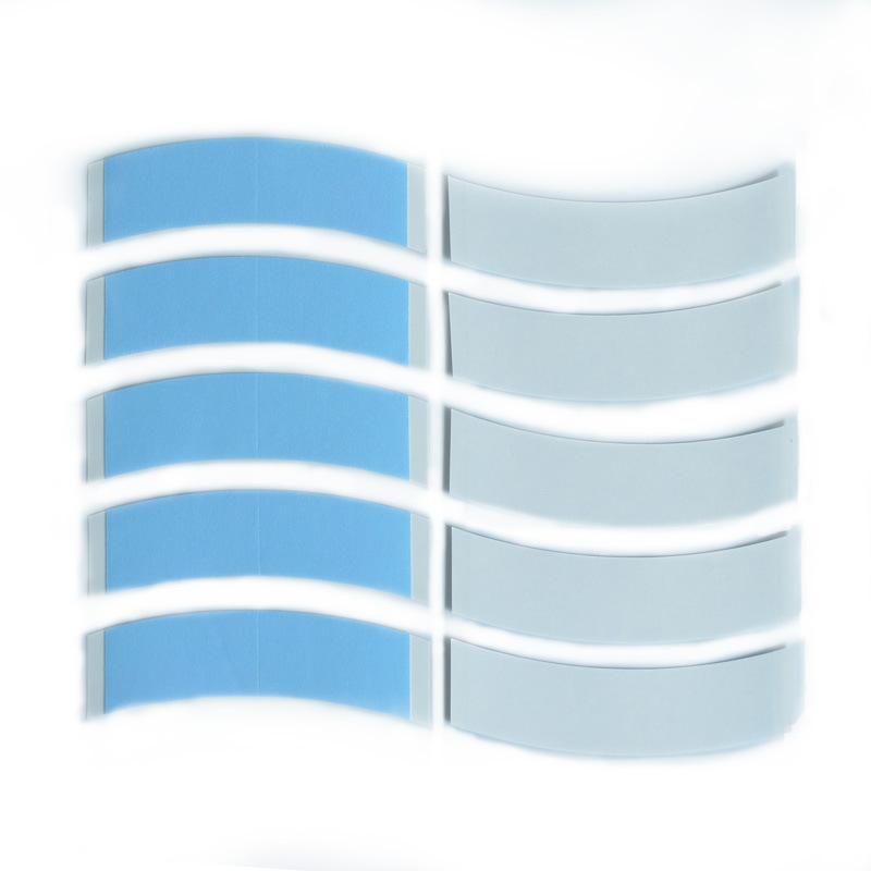 美国新款蓝胶DUO-TAC强粘力防水防汗假发双面胶片/织发补发假发