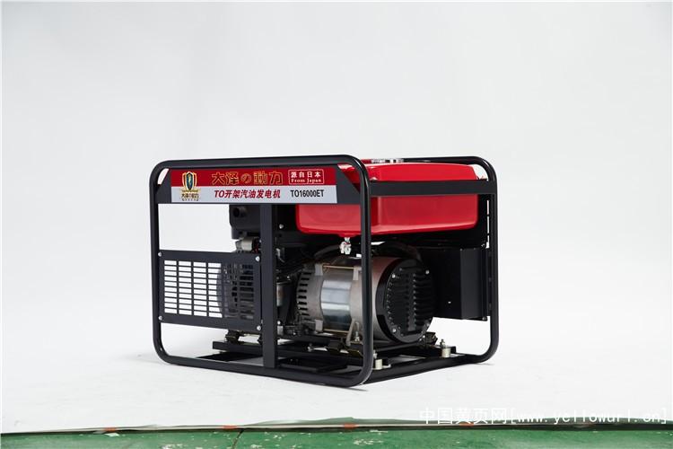 大澤動力15kw汽油發電機TO16000ET