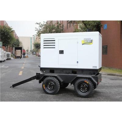 大泽动力400A拖车式发电电焊机
