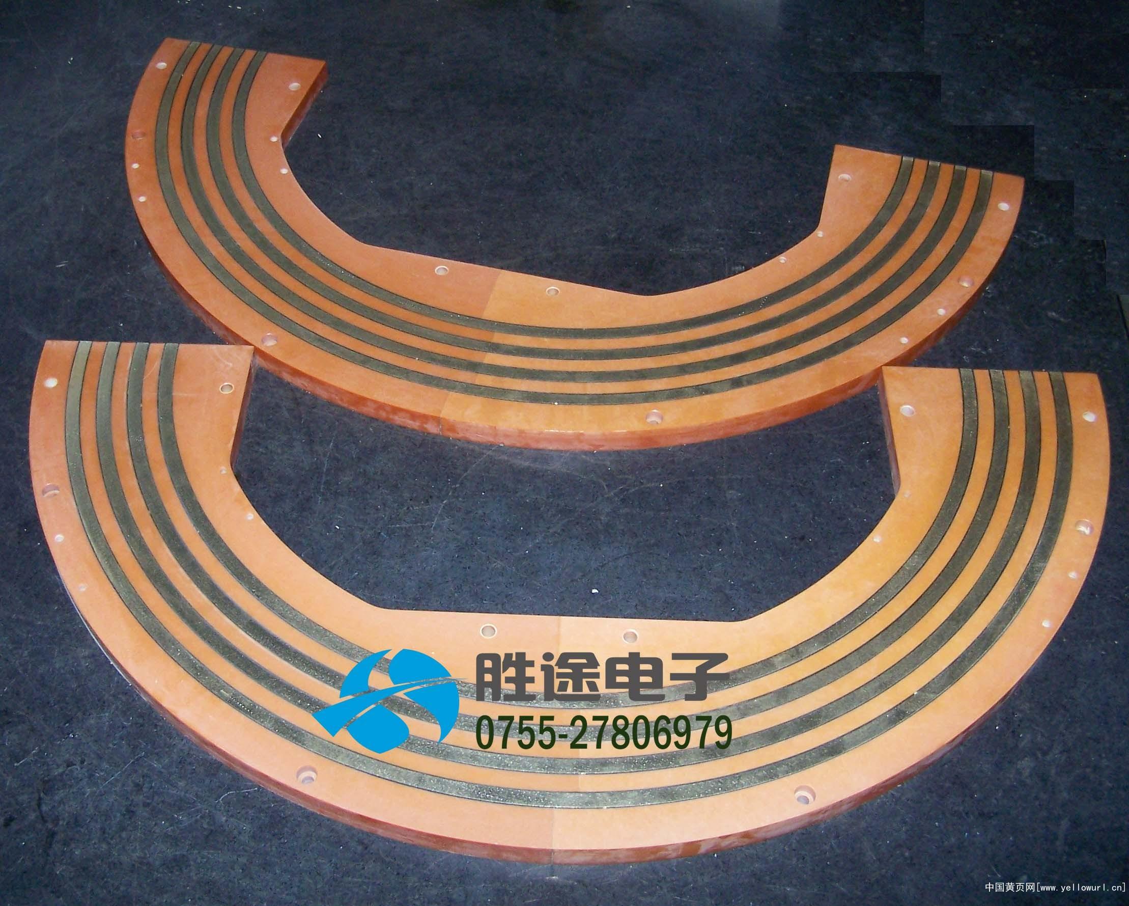 定制旋转舞台滑环   舞台半圆形滑环